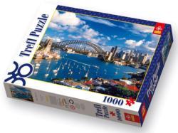 Port Jackson, Sydney Bridges Jigsaw Puzzle