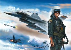 F-15 Fighting Falcon History Jigsaw Puzzle