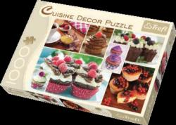 Muffins (Cuisine Décor) Food and Drink Jigsaw Puzzle