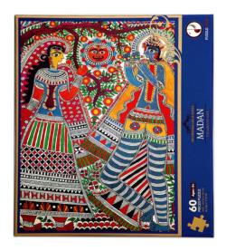 Madan Puzzle (Sri Krishna Leela Series) Cultural Art Jigsaw Puzzle