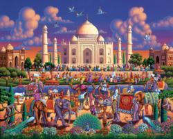 Taj Mahal Taj Mahal Jigsaw Puzzle