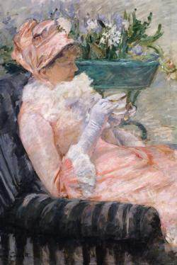 The Cup of Tea by Mary Cassatt Fine Art