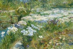 The Water Garden by Childe Hassam People