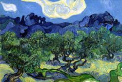 The Olive Trees by Van Gogh People