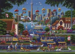 Toronto Island Canada Jigsaw Puzzle