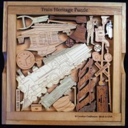 Train Heritage Railroad Puzzle
