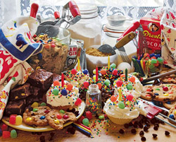 Treats and Sweets Food and Drink Jigsaw Puzzle