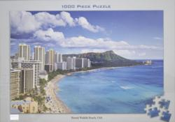 Hawaii Waikiki Beach Hawaii Jigsaw Puzzle