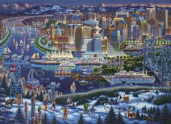 Vancouver Canada Jigsaw Puzzle