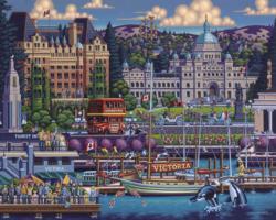 Victoria Canada Jigsaw Puzzle