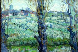 View of Arles by Van Gogh People