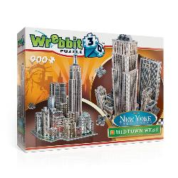 Midtown West - Empire State New York 3D Puzzle