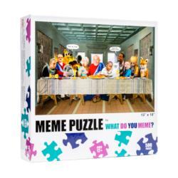What Do You Meme Last Supper Puzzle Collage Jigsaw Puzzle