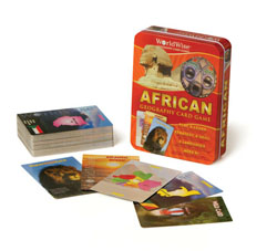 WorldWise Africa Card Game Africa