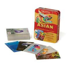 WorldWise Asia Card Game Asia