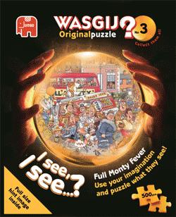 Wasgij Original #3 - Full Monty Fever - 500 Wasgij Jigsaw Puzzle