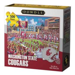 Washington State Cougars Baseball Jigsaw Puzzle