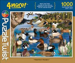 Waterfowl Wonders Wildlife Jigsaw Puzzle