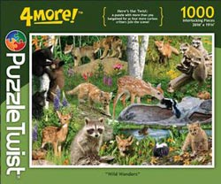 Wild Wonders Collage Jigsaw Puzzle