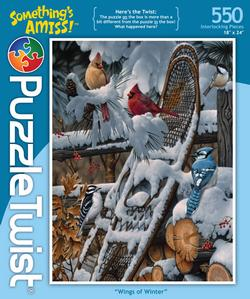 Wings of Winter Mother's Day Jigsaw Puzzle