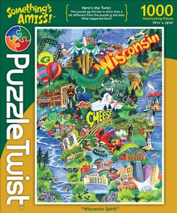 Wisconsin Spirit Collage Jigsaw Puzzle