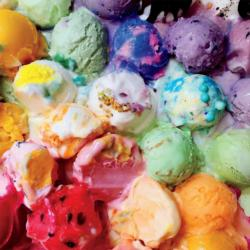 Melted Ice Cream (Brittany Wright) Sweets Jigsaw Puzzle