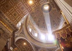 Saint Peter's Basilica Churches Jigsaw Puzzle