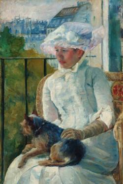Young Girl at the Window by Mary Cassatt Fine Art