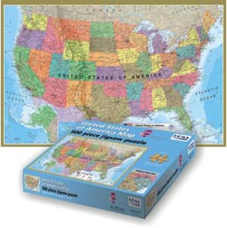 USA Map - Scratch and Dent United States Jigsaw Puzzle