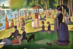A Sunday on A La Grande Jatte by Georges-Pierre Seurat People