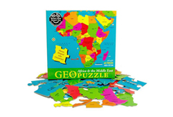 Africa Maps Jigsaw Puzzle