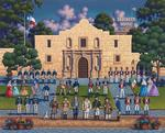 The Alamo United States Jigsaw Puzzle