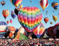 Albuquerque Balloon Fiesta (Colorluxe) Photography Large Piece