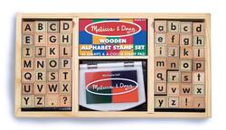 Alphabet Stamp Set Educational Toy