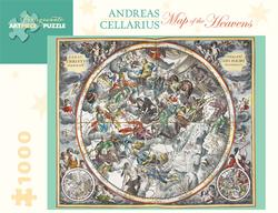 Map of the Heavens Renaissance Jigsaw Puzzle
