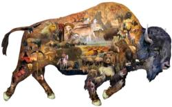 Prairie Dweller Wildlife Shaped Puzzle