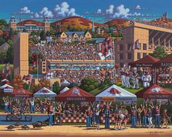 Arkansas Razorbacks Sports Jigsaw Puzzle