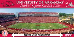 University of Arkansas Sports Panoramic Puzzle