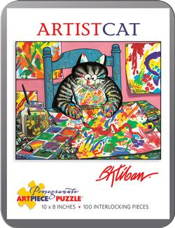ArtistCat (Mini Tin) Cartoons Miniature