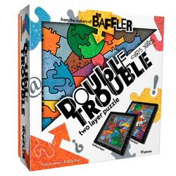 Baffler Double Trouble - Astronomer's Riddle Box Abstract Double Sided
