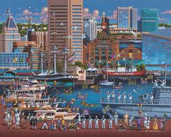 Baltimore Folk Art Jigsaw Puzzle