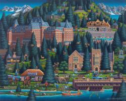 Banff Canada Jigsaw Puzzle