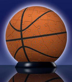 Basketball Sports Puzzleball