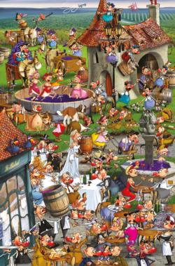 Story of Wine Adult Beverages Jigsaw Puzzle