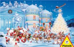 Toy Factory Snow Jigsaw Puzzle