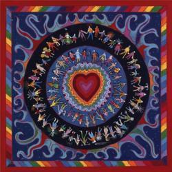 Big Red Happy Heart by Paul Heussenstamm Fine Art