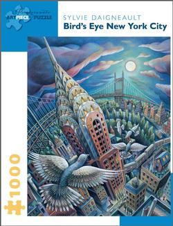Bird's Eye New York City Cities Jigsaw Puzzle