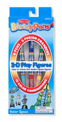 BlendyPens 3D Play Figures - Outer Space Space Arts and Crafts