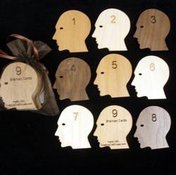 Brainiac - 9 Magic Math Cards Brain Teaser