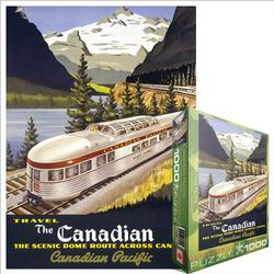 The Scenic Dome Route, 1955 - Scratch and Dent Canada Jigsaw Puzzle